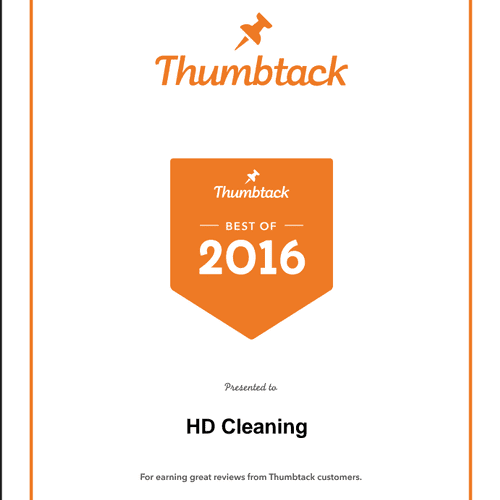 We are VERY proud of this award, and have no one but our clients to thank!