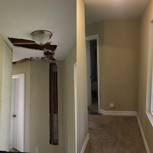 Before & After - Re-piping Repair
