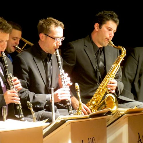 Performing with the Artie Shaw Jazz Orchestra