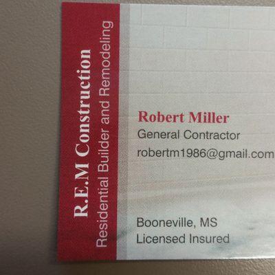 Avatar for REM CONSTRUCTION, LLC Booneville, MS Thumbtack