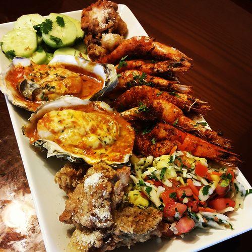Daves Seafood Platter