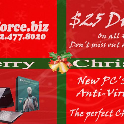 New PC's and Laptops