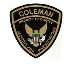 Avatar for Coleman Security & Investigations