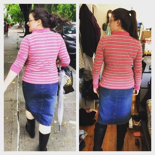 I'm so proud of her! She lost 30+ lbs!