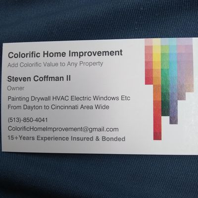 Avatar for Colorific Home Improvement