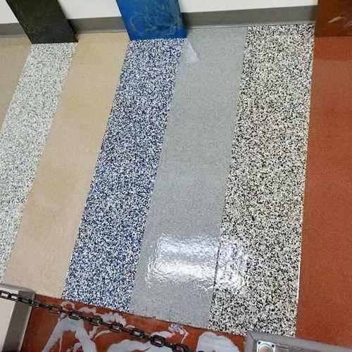Advance Industrial Coatings Flooring Demo Room