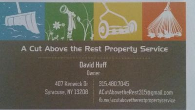 Avatar for A Cut Above the Rest Property Service Syracuse, NY Thumbtack