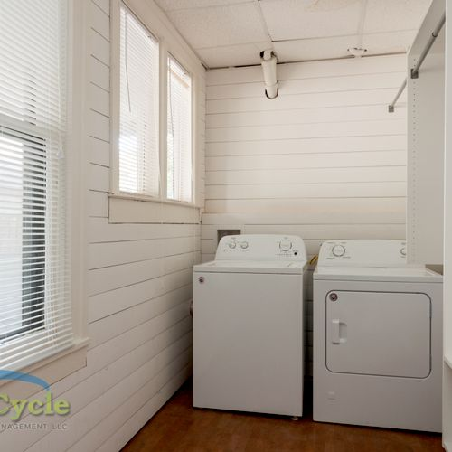Master Closet Complete Renovation - Install Laundry Machines, Fresh Paint, and Closet System Installed