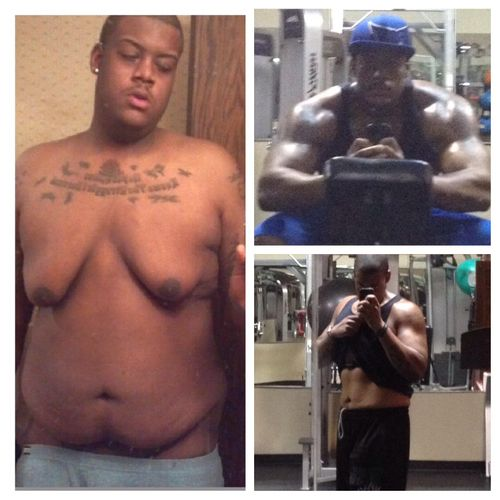 My personal transformation. 370lbs to 238lbs