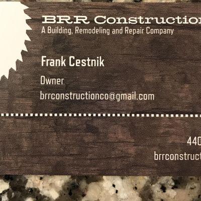 Avatar for BRR Construction Chardon, OH Thumbtack