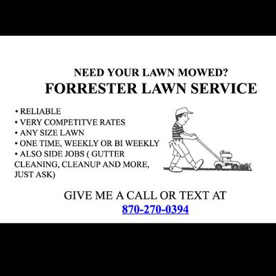 Avatar for Forrester Lawn care Jonesboro, AR Thumbtack