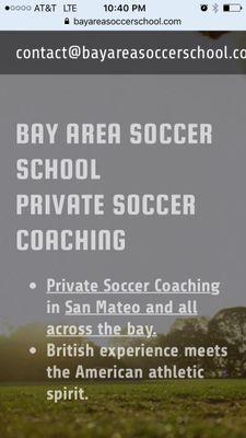 Avatar for Bay Area Soccer School