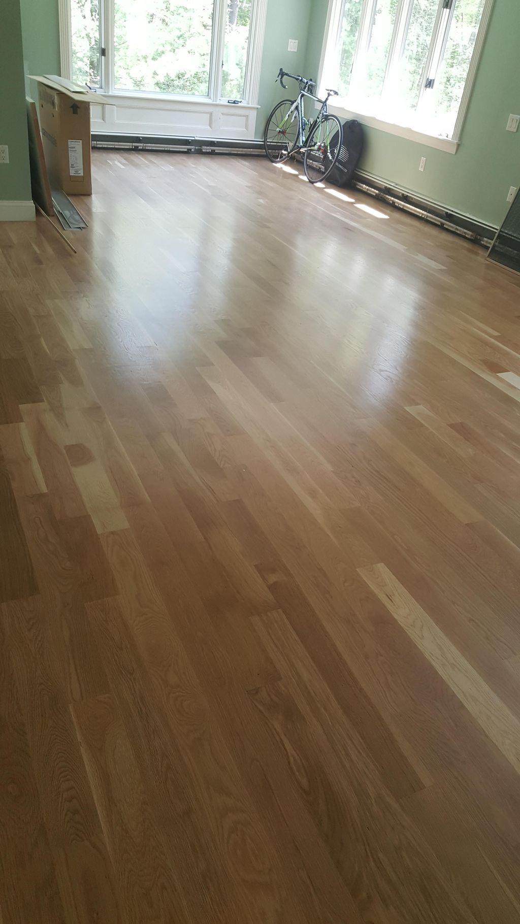 Peter's hardwood floors