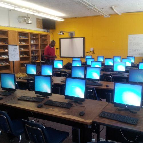 "High school media center computer lab ""rescue"" (July 2014)"