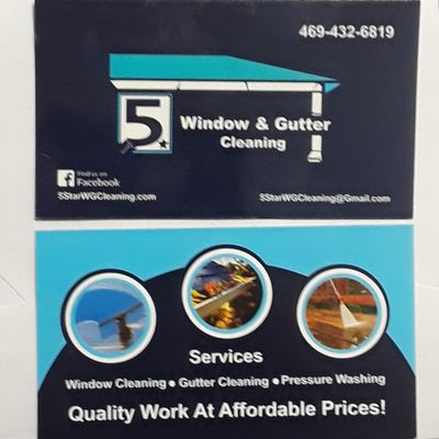 Avatar for 5star window Gutters cleaning & pressure washing