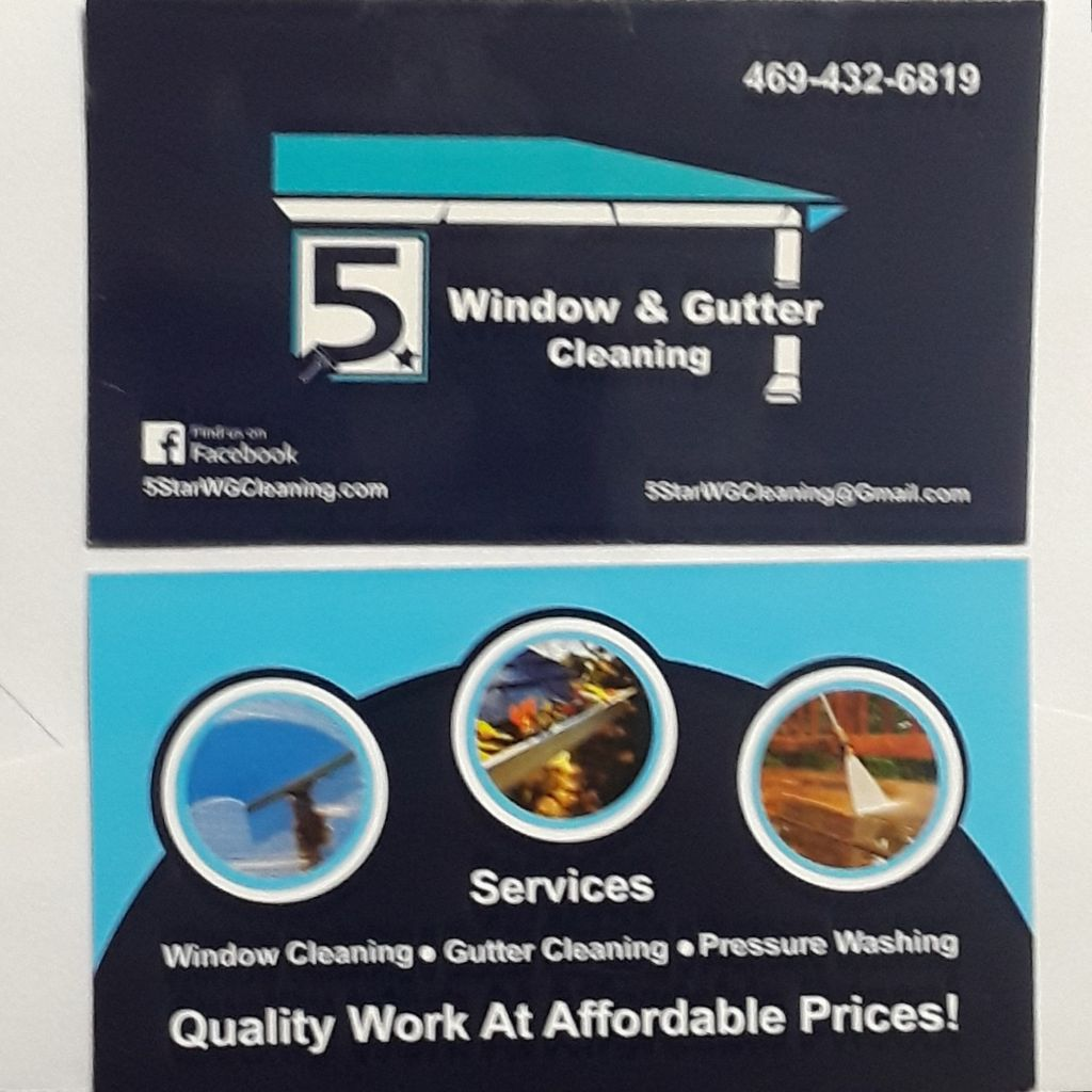 5star window Gutters cleaning & pressure washing