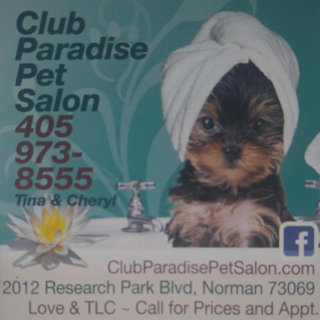 Club Paradise Pet Salon, Norman, OK