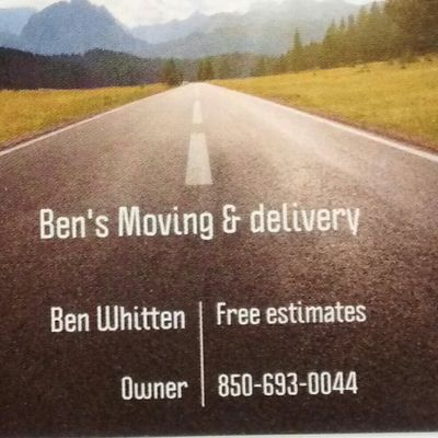Avatar for Ben's Moving & Delivery Greenwood, FL Thumbtack