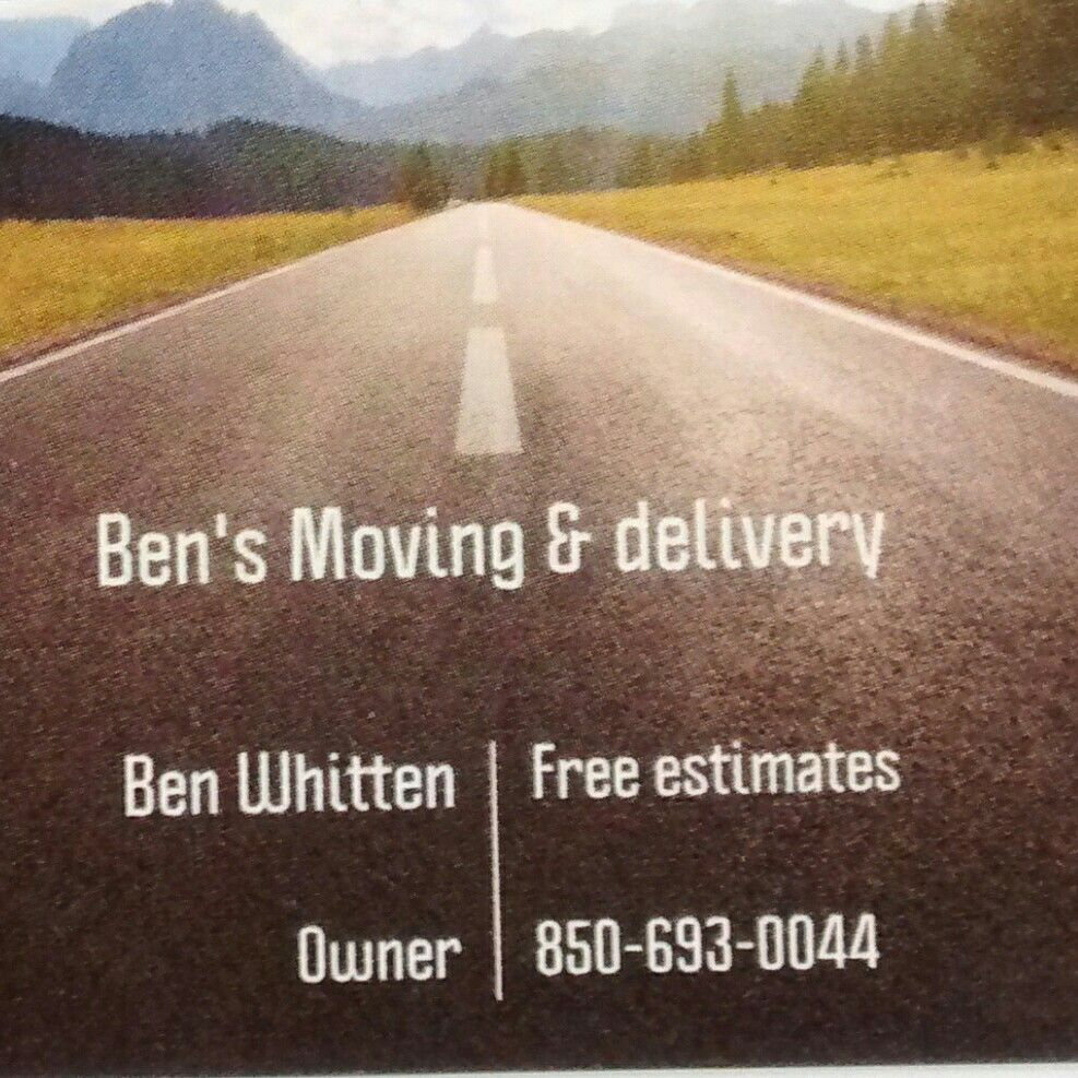 Ben's Moving & Delivery