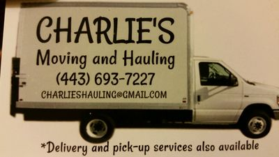 Avatar for Charlies moving and hauling Columbia, MD Thumbtack
