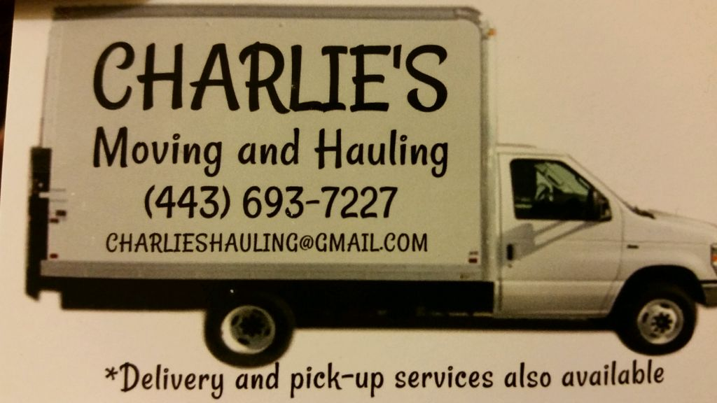 Charlies moving and hauling