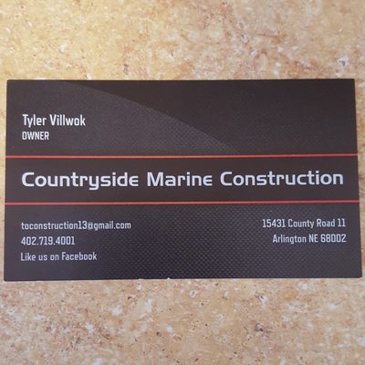 Avatar for Countryside Construction Arlington, NE Thumbtack
