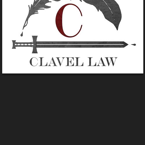 Clavel Law logo