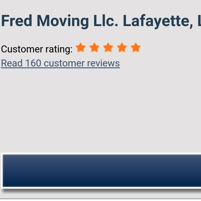Fred's Moving
