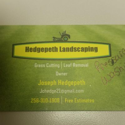 Avatar for Hedgepeth Landscaping & Pressure Washing