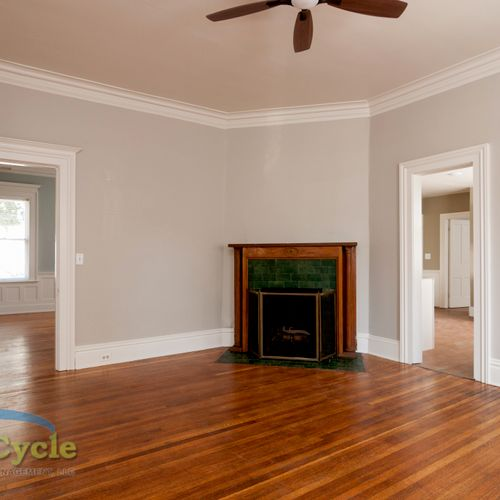 Lafayette Apartment Renovation - Fresh Paint and Wood Floor Refresh
