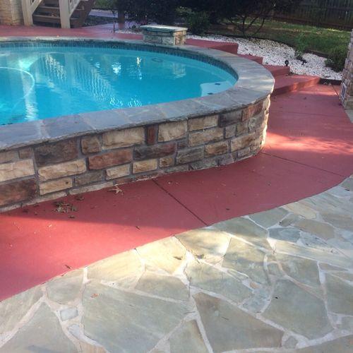 New Gunite Pool Installation