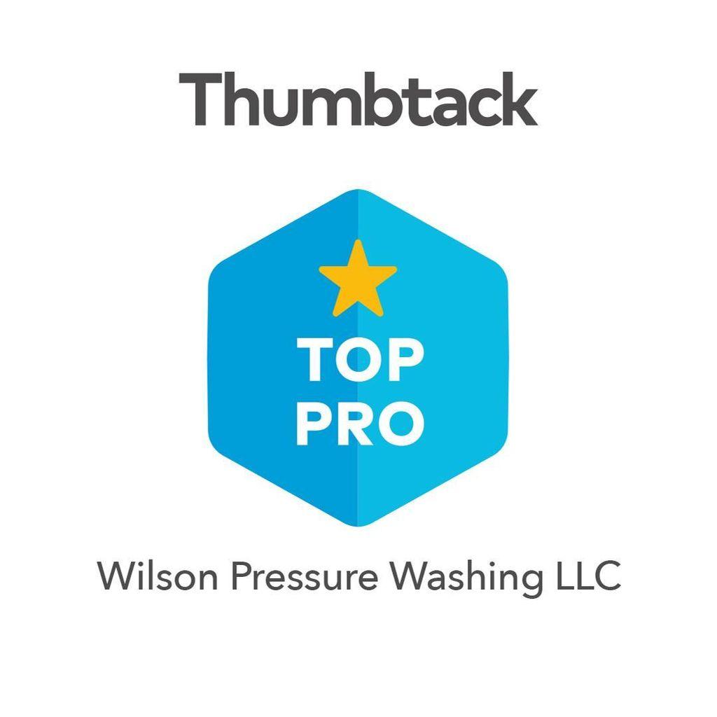 Wilson Pressure Washing LLC