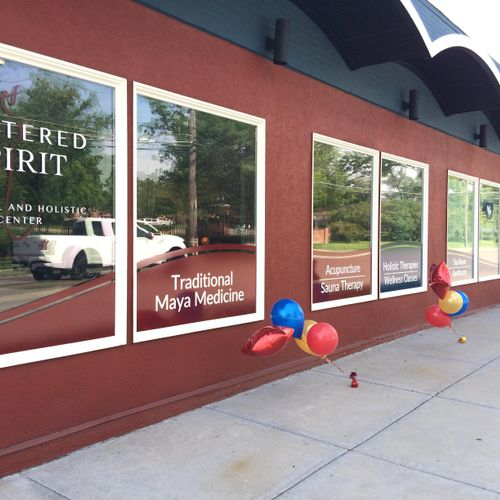 Centered Spirit at 8131 Wornall Road, KCMO, is where I have my office. The space is lovely, with an infrared sauna, classroom space, beautiful colors, music, and a French tea room.