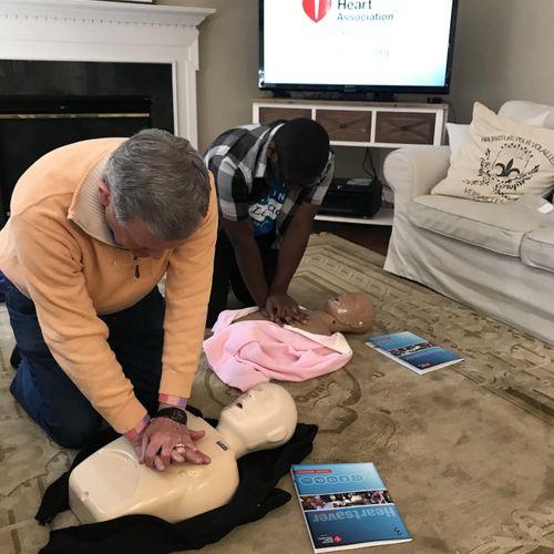 Heart Saver - Adult Skills Training
