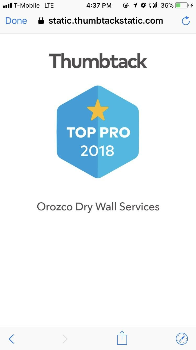 Orozco Dry Wall Services