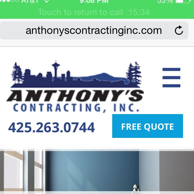 Anthony's Contracting Inc