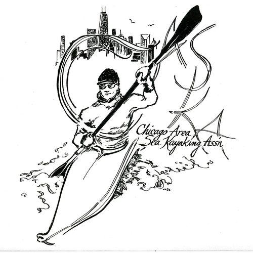 Logo for the Chicago Area Sea Kayak Association
