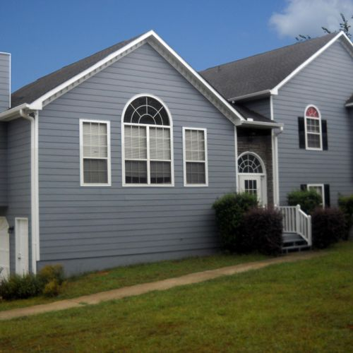 New Siding & Exterior Painting