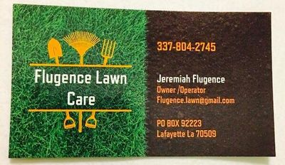 Avatar for Flugence Lawn Care Carencro, LA Thumbtack