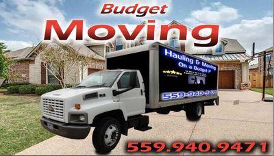 Avatar for Budget Moving & Hauling Clovis, CA Thumbtack