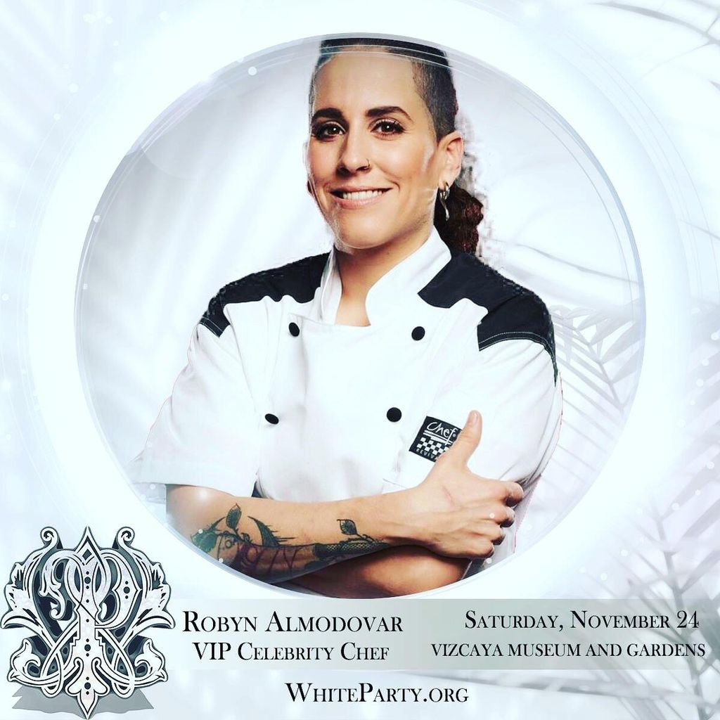 Chef Robyn Almodovar owner of Palate Party