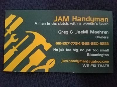 Avatar for JAM HANDYMAN LLC