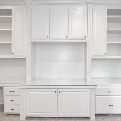 We are experts at cabinetry, let us enhance your home with a built-in.