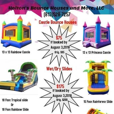 Avatar for Holton's Bounce Houses and More,LLC