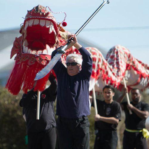 Dragon Dancing at Myrtle Beach