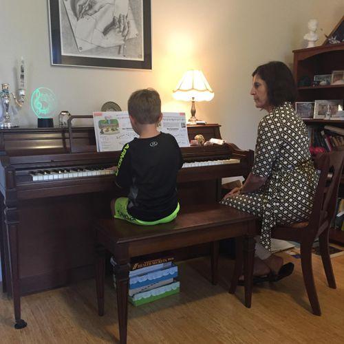 Piano-Child under 8