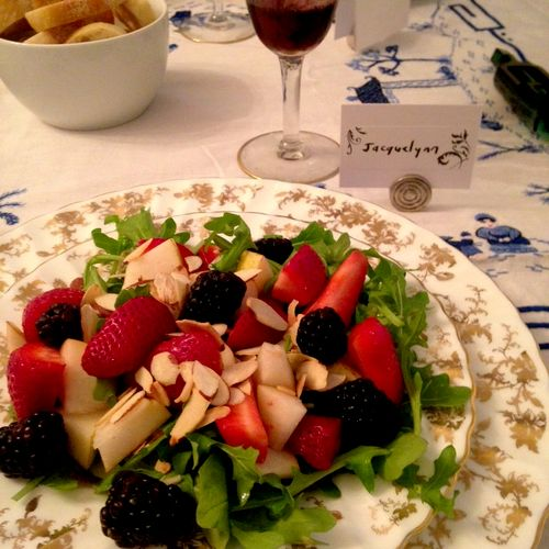 Berry Salad with Strawberry Vinaigrette