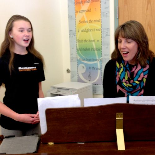 Annie prepared a difficult song from Into the Woods for a middle school audition. I'm very excited to see her perform in this new musical.