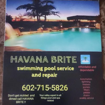Avatar for Havana Brite pools Phoenix, AZ Thumbtack