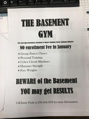 Avatar for The Basement Gym Florence, AL Thumbtack